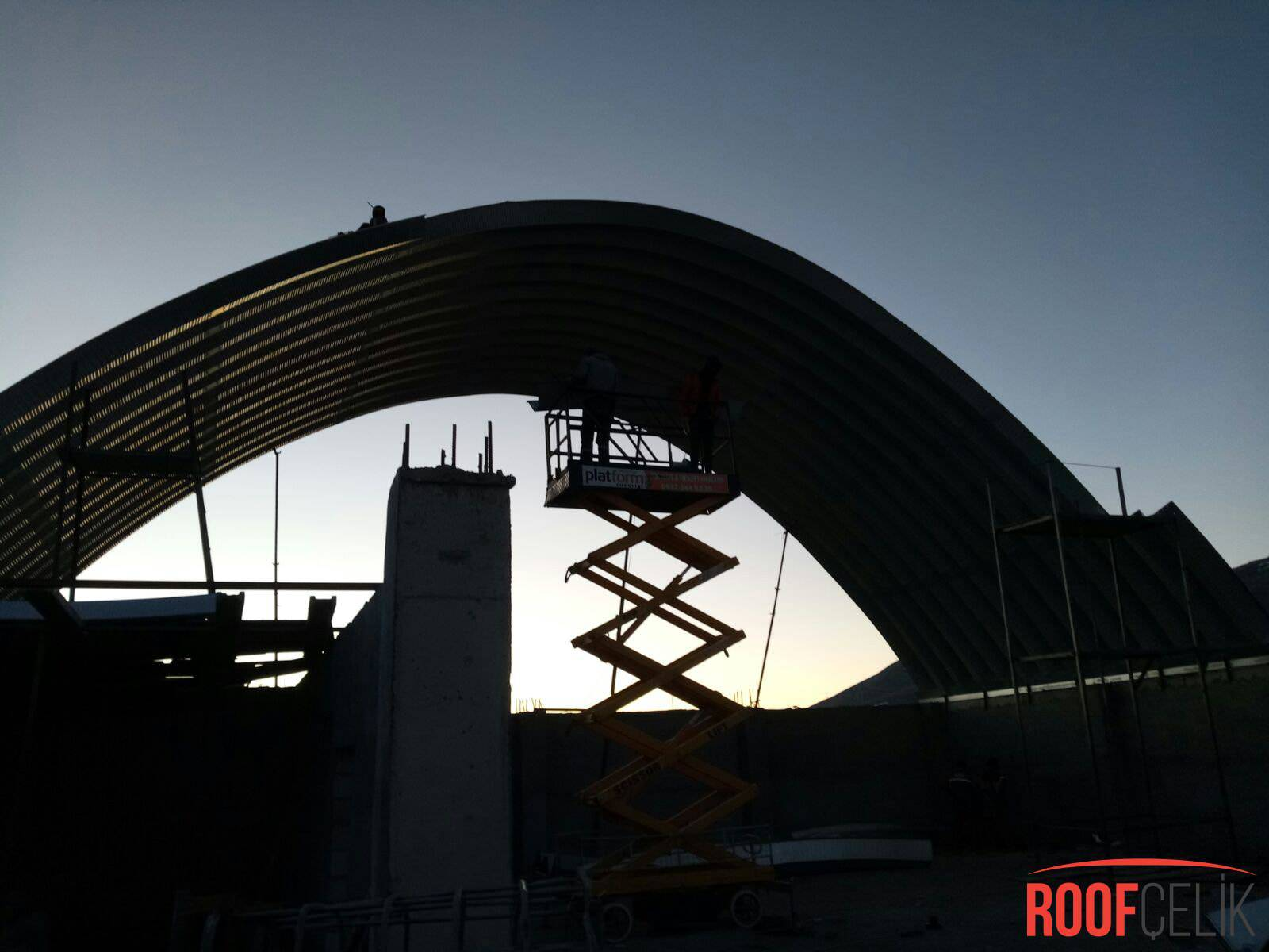Roof Çelik Ardahan Şantiyesi