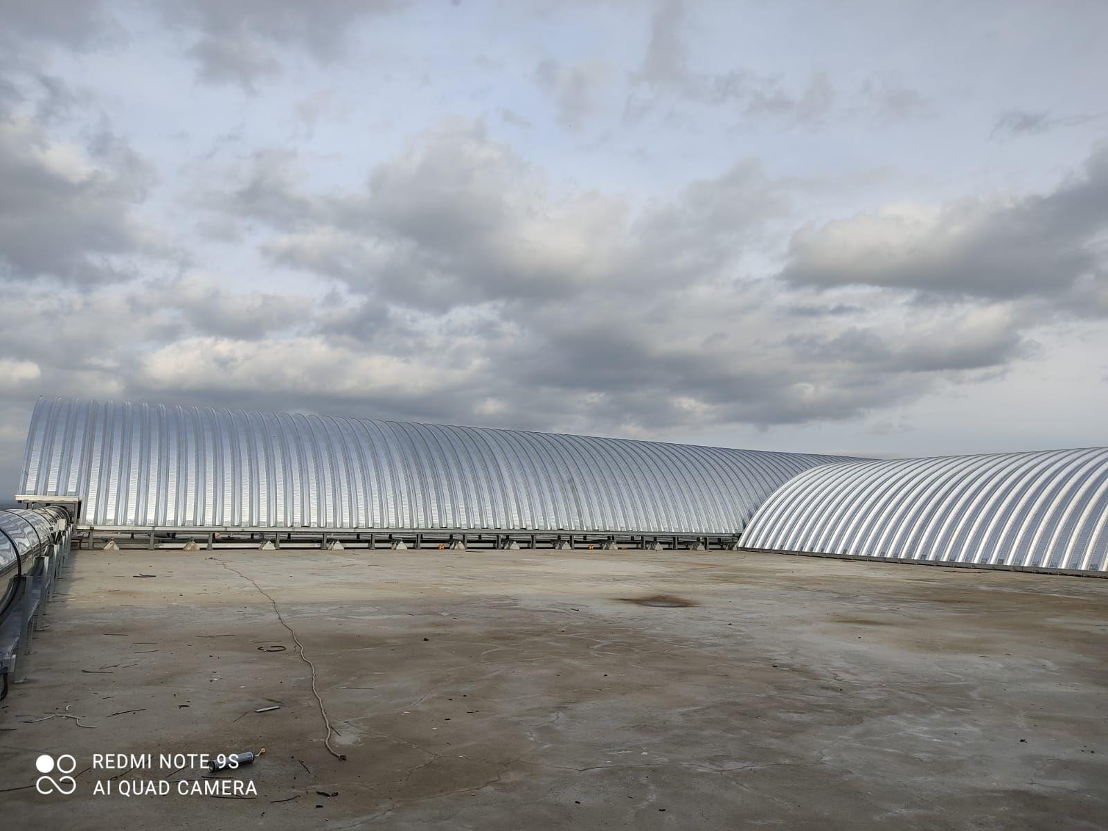 Roof Çelik ATLAS İNŞAAT EDİRNE KATI ATIK DÜZENLİ DEPOLAMA  BERTARAF TESİSİ