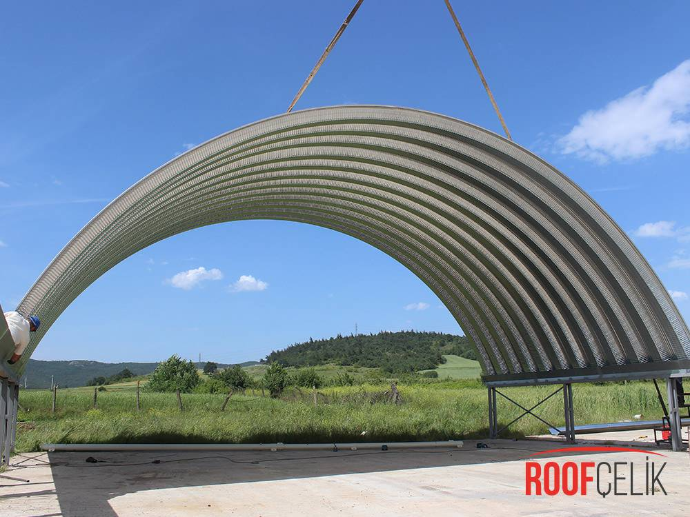 Roof Çelik Bursa Depo