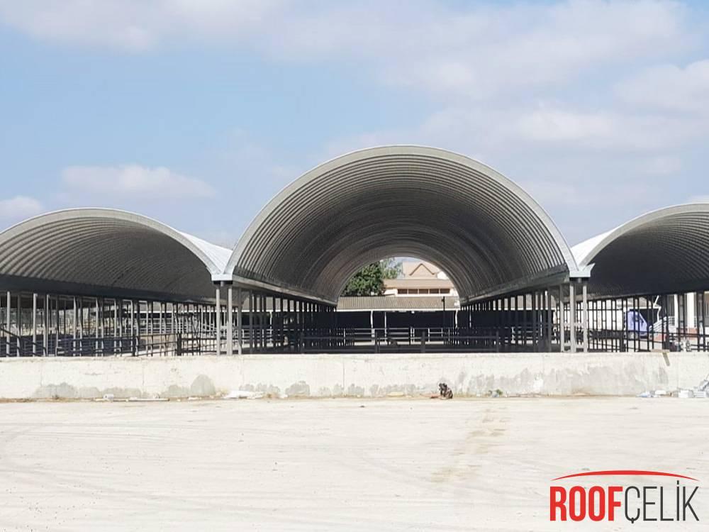 Roof Çelik Edirne Hayvan Pazarı