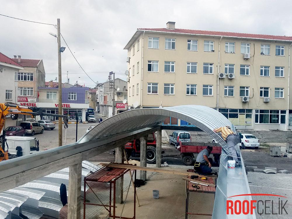 Roof Çelik Edirne Pazar Yeri