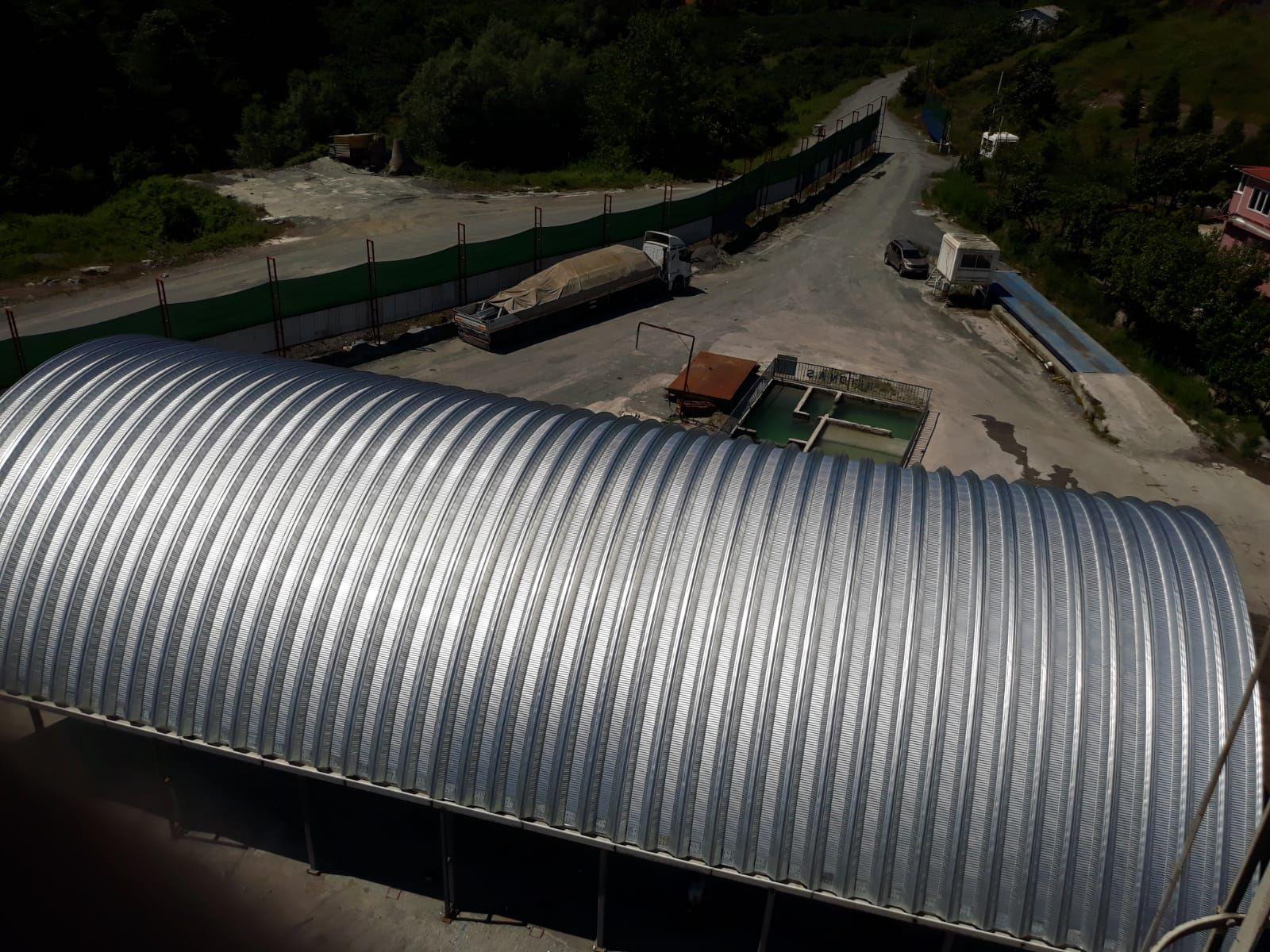 Roof Çelik Ege Doğa - Zonguldak Cürüf Ayrıştırma Tesisi
