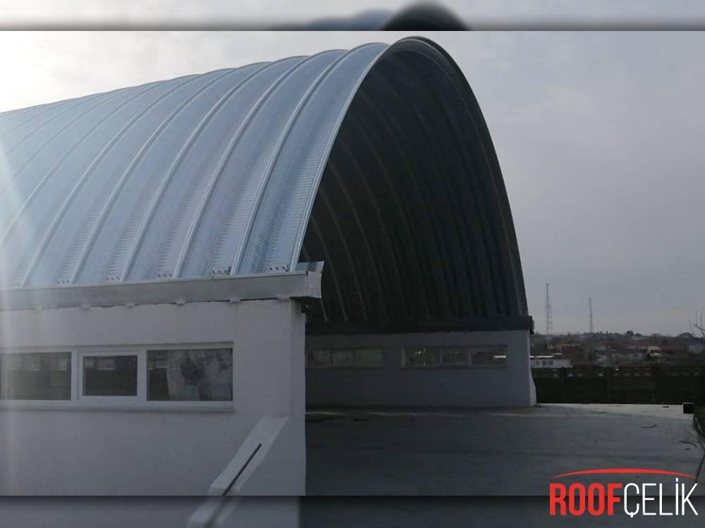 Roof Çelik EKUNSAN UN FABRİKASI / EDİRNE