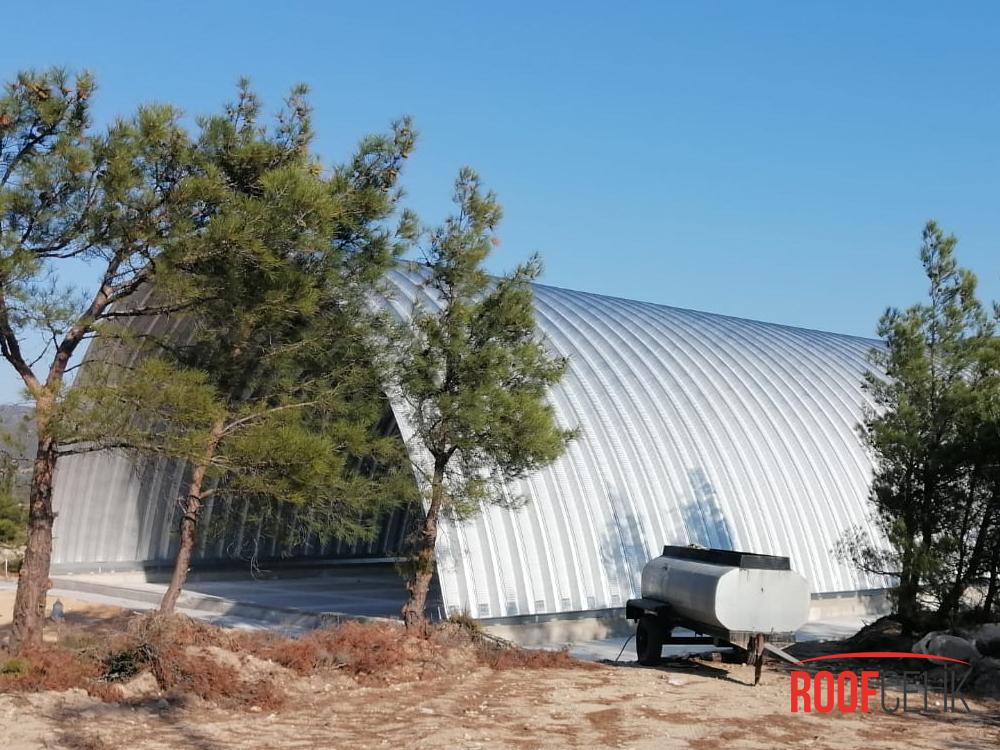 Roof Çelik İZMİR ORMAN BÖLGE MÜDÜRLÜĞÜ URLA SİVİL HAVACILIK
