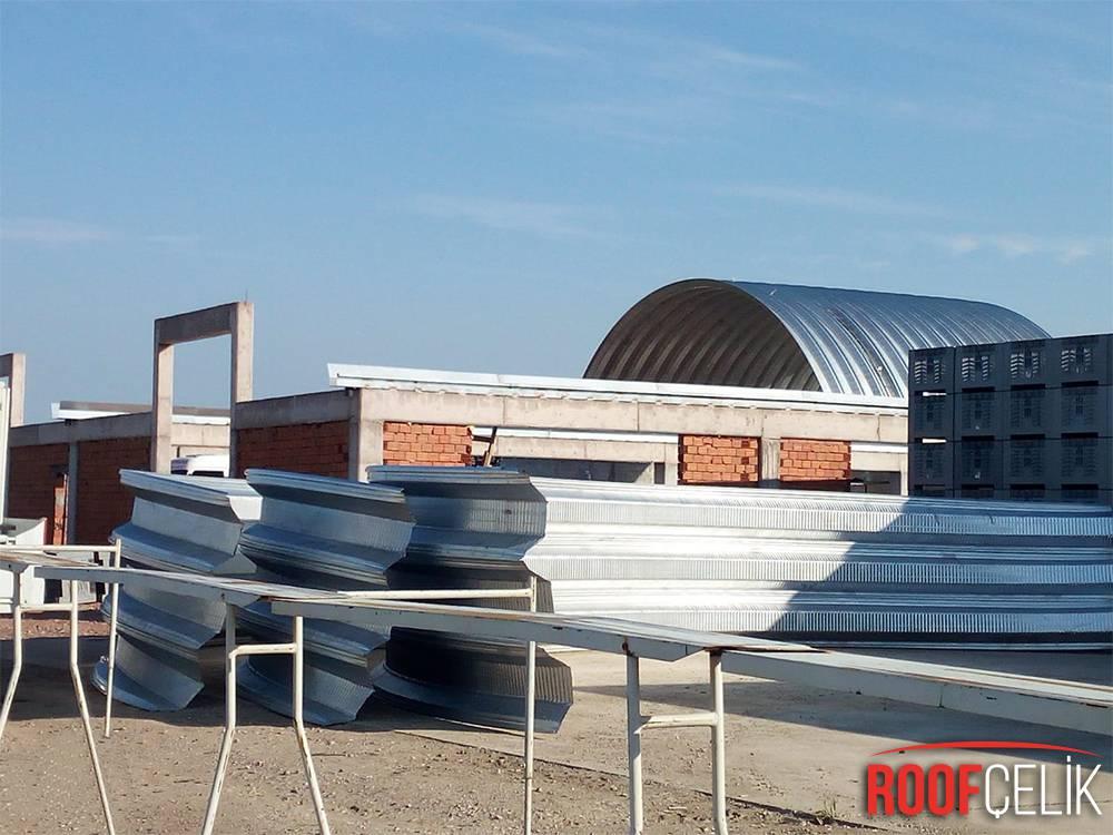 Roof Çelik KARACABEY ÜRÜN SAKLAMA DEPOSU