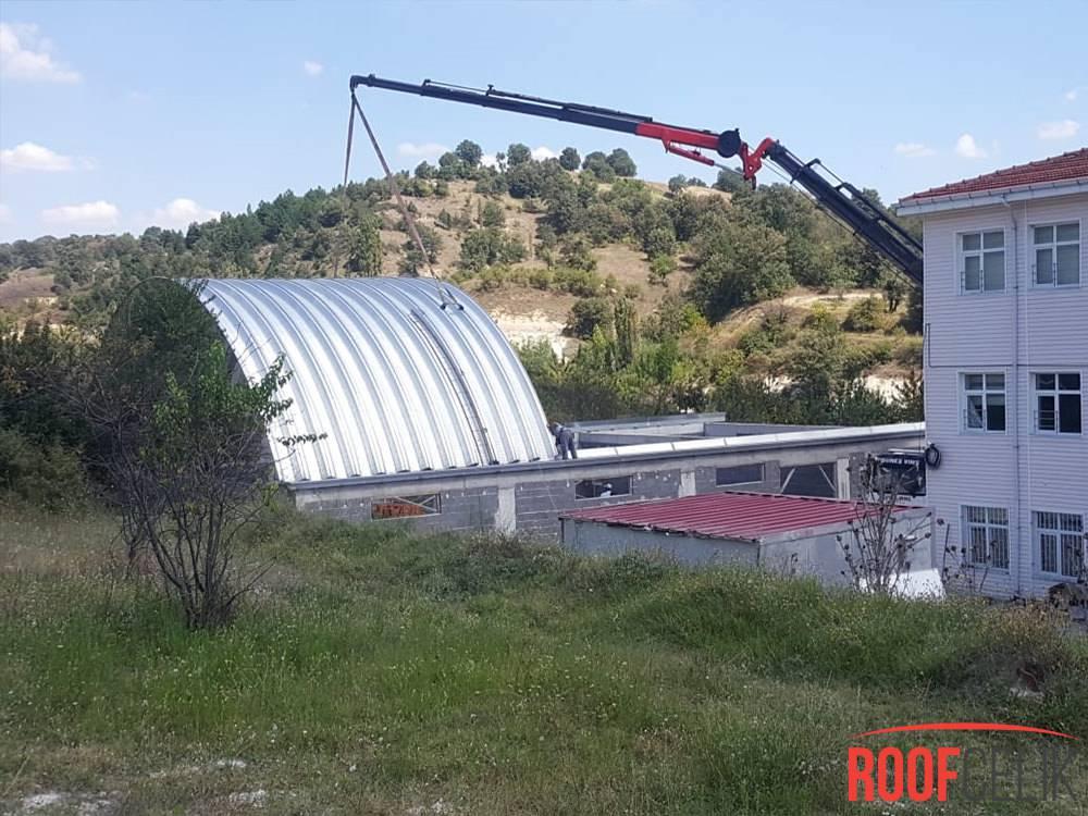 Roof Çelik Kütahya Spor Salonu