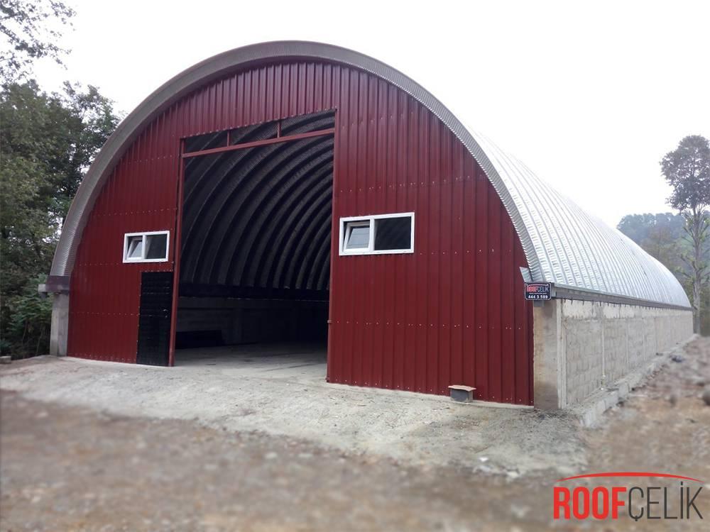 Roof Çelik RİZE FINDIKLI ANBAR