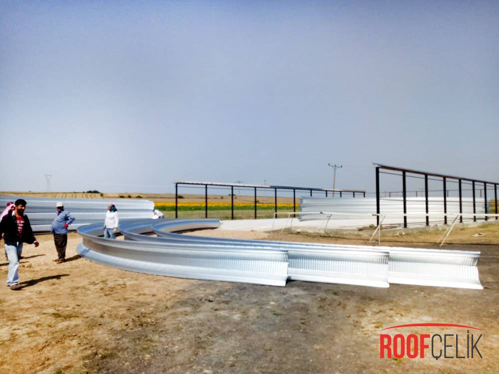 Roof Çelik Tekirdağ Saman Deposu