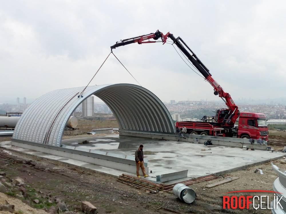 Roof Çelik TSK MALZEME DEPOSU