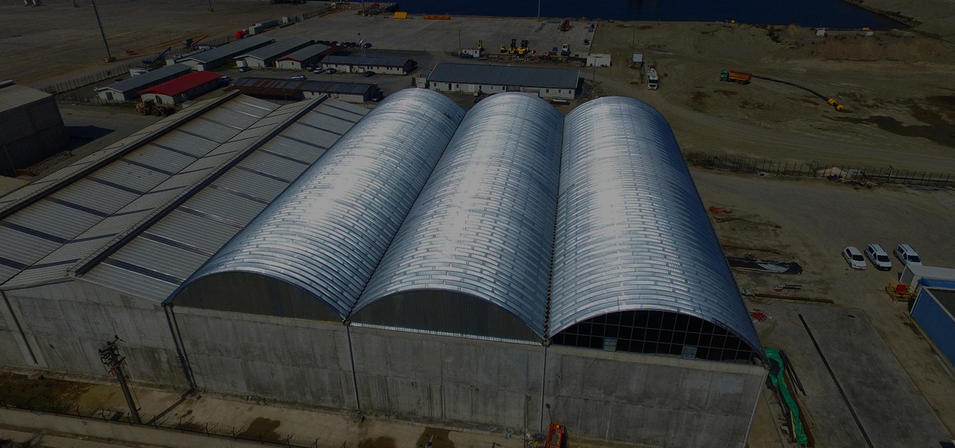 Roof Çelik - Çeliğin Şekil Almış Hali